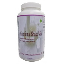 Hawaiian herbal nutritional shake mix powder