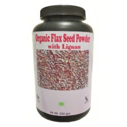 Hawaiian herbal organic flax seed powder