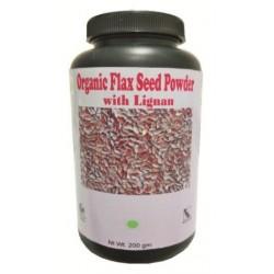 Hawaiian herbal organic flax seed powder