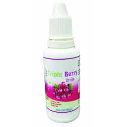 Hawaiian herbal  triple berry drops