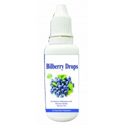 Hawaiian herbal bilberry drops