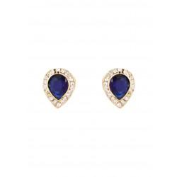 Adoreva Blue Peacock Pearl Pendant Earrings Set for Women 390 2
