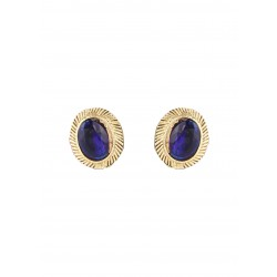 Adoreva Blue Pearl Pendant Earrings Set for Women 386 2
