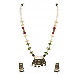 Adoreva Meena Pendant Earrings Set for Women 293