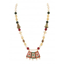 Adoreva Meena Pendant Earrings Set for Women 291