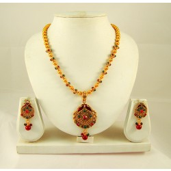 Adoreva Necklace Earrings Set for Women 289