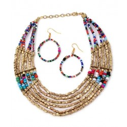 Adoreva Statement Necklace Set for Women 249 4