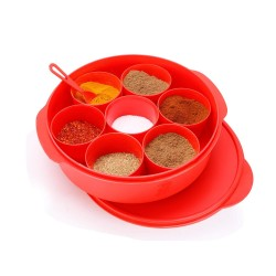 Oliveware Spice Storage Container Red 2