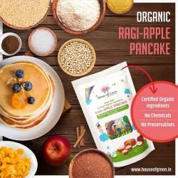 Ragi Apple Pancake