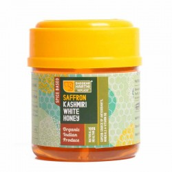 Saffron Infused Kashmiri White Honey - 150 Gms