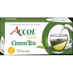 Accol Organic Green Tea Bag 100 Gm 1