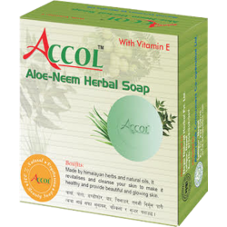 ACCOL Aloe Neem Herbal Soap 1