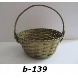 B-139 BASKET AND BOWLS