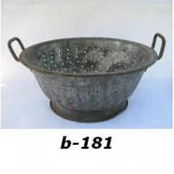 B-181 BASKET AND BOWLS