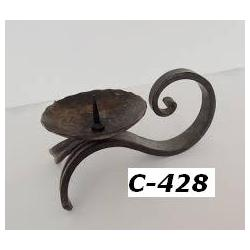 C 428  iron cande stand