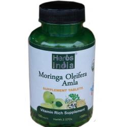 Moringa Amla tablet - 1000 Mg - 100 Tablets