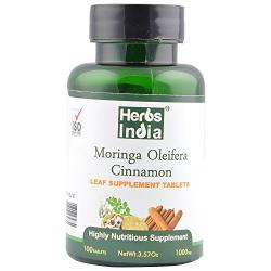 Moringa Cinnamon Tablet - 1000 Mg - 100 Tablets
