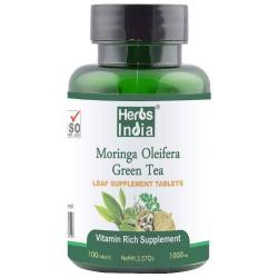 Moringa green Tea - 1000 Mg -100 tablets