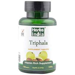 Triphala Tablet - 1000 Mg - 100 Tablets