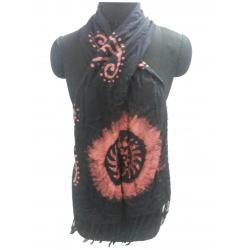 Batik Hand Print Viscose Shawl
