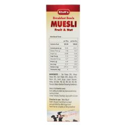 Breakfast Cereal Muesli Fruit & Nut  250 gms 1