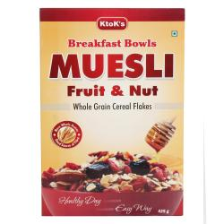 Breakfast Cereal - Muesli Fruit & Nut - 425 gms