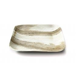 9 inch Disposable Square Areca Palm Leaf plates