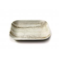 7 inch Disposable Square Areca Palm Leaf plates