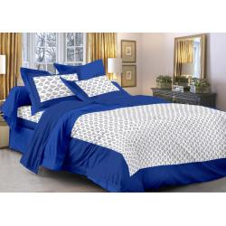 Saganeri and Jaipuri Printed Cotton Double Bedsheets