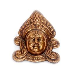 Brass Material Golden Maa Face