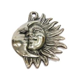 Brass Material  Hanging Sun & Moon