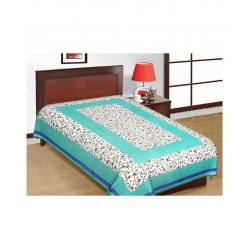 Saganeri and Jaipuri Printed Cotton Single Bedsheets Combo(No Pillow Cover) 3
