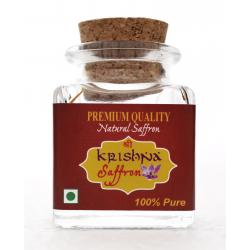 Shri Krishna 100% Pure Kashmiri Saffron Threads - 3gm