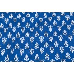 Jaipuri Printed New Traditional Checkered Single Bed Sheet 3
