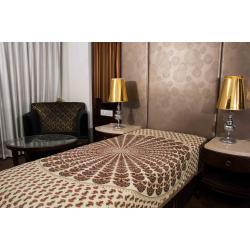 Jaipuri Printed New Traditional Checkered Single Bed Sheet 4