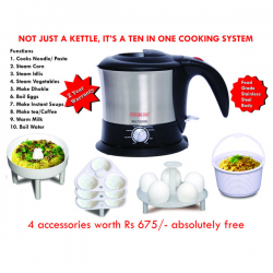 CLEARLINE - MULTICOOK -10 in 1 COOKING SYSTEM