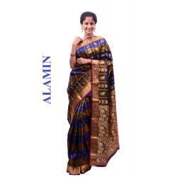 Silk multicolor Saree - ALMN