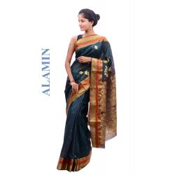 Silk Light Violet Saree - ALMN
