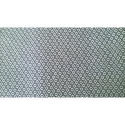 Navy Micro print polyester