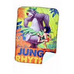 Jungle Rhythm Disney Sherpa Baby blanket 30 X 40