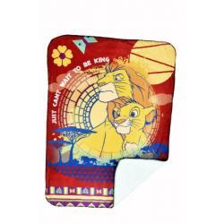 Lion Disney Sherpa Novality blanket 60 X 90