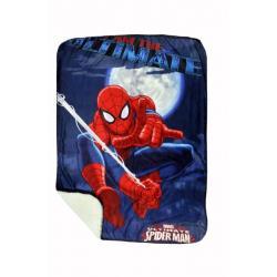 Spider Man Disney Sherpa Novality blanket 60 X 90