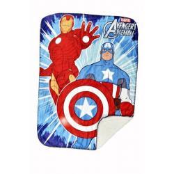 Avengers Disney Sherpa Novality blanket 60 X 90