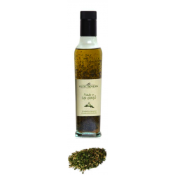 Extra Virgin Oil mixed with Mediterranean herbs