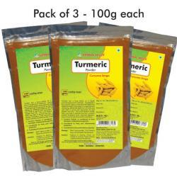 Turmeric Powder - 100 gms powder Herbal Hills