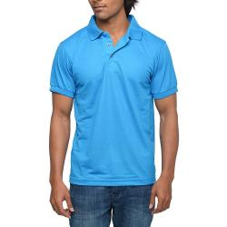 Mens Blue Polo T-shirt