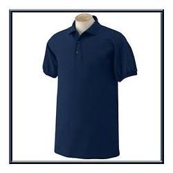 Mens Navy Polo T-shirt