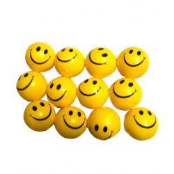 Smiley Ball set of 12 - 3 Inch