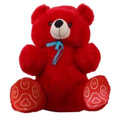 Jumbo Teddy Bear 28 Inch Red