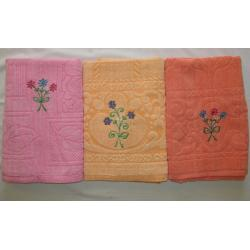 GOLD CHOICE EMBROIDERY  BATH TOWEL 1